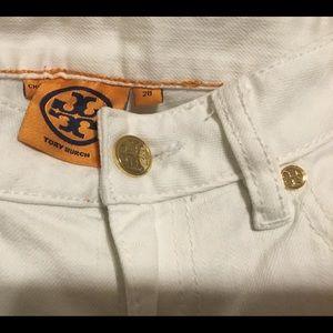 Tory burch - white jean
